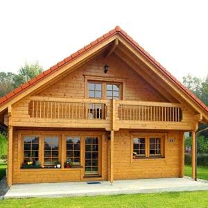 Foto di case in legno a due piani for Piani di casa del merluzzo cape modificati
