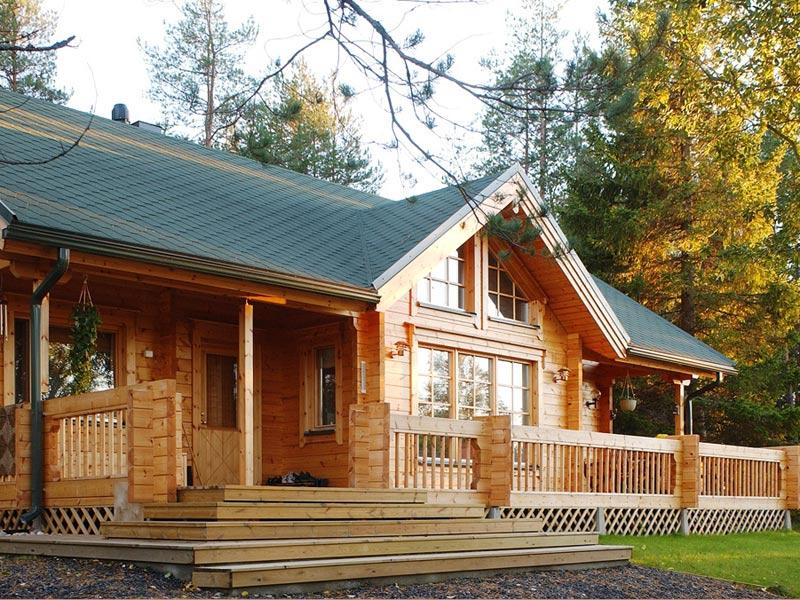 Finnhaus idee per tutti casa legno un piano for Chalet in legno prefabbricati